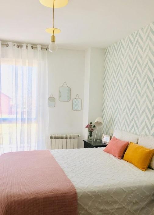 dormitorio que parece más grande